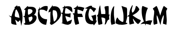 Egg Roll Font UPPERCASE