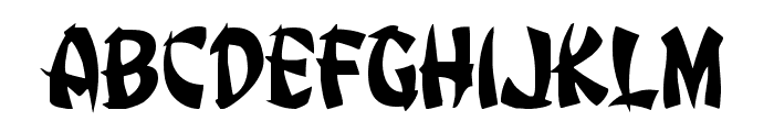 Egg Roll Font LOWERCASE
