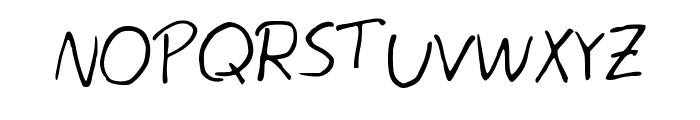 Egg Font UPPERCASE