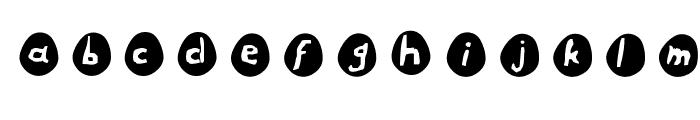 Eggs Font LOWERCASE
