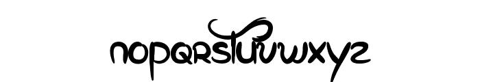 Eglantine Font LOWERCASE