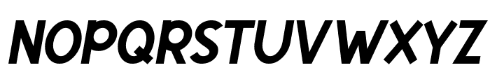 Egmont Text Bold Italic Font UPPERCASE