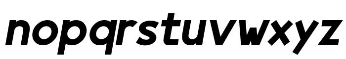 Egmont Text Bold Italic Font LOWERCASE