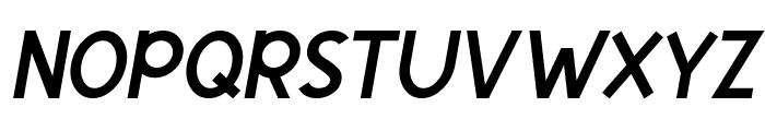 Egmont Text Italic Font UPPERCASE