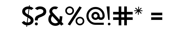 Egmont Text Light Font OTHER CHARS