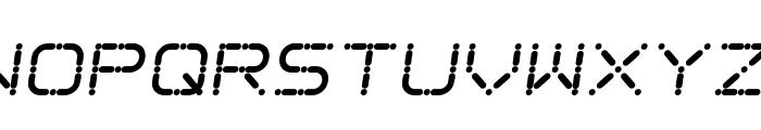 Ego trip Skew Font UPPERCASE