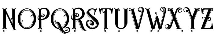 Egorycastle Font UPPERCASE