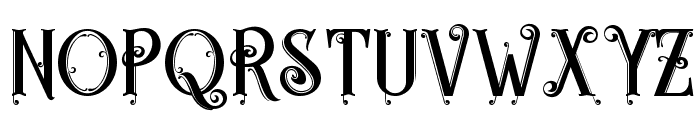 Egorycastle Font LOWERCASE