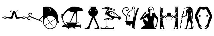 EgyptChildren Font OTHER CHARS