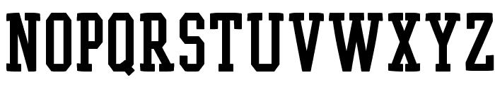 EgyptRund Font UPPERCASE