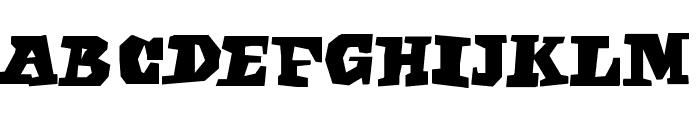 EgyptianFreehand Font LOWERCASE
