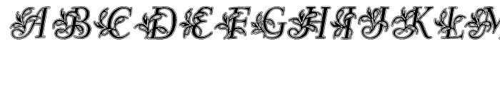 Egmontian Lined Font UPPERCASE
