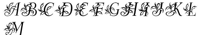 Egmontian Regular Font UPPERCASE