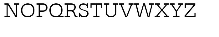 Egyptienne Light Font UPPERCASE