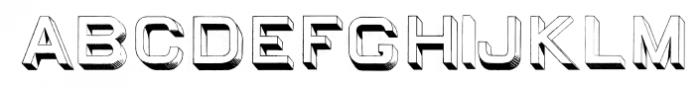 EgiptianSansSerif Regular Font UPPERCASE