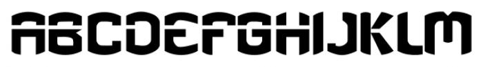 eGuerrilla Regular Font UPPERCASE