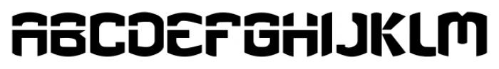 eGuerrilla Regular Font LOWERCASE