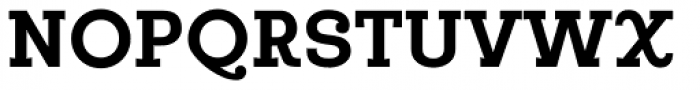 Egalite Bold Font UPPERCASE