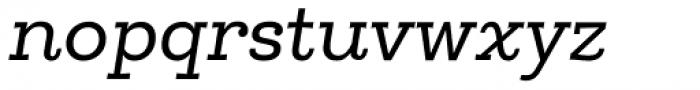 Egalite Italic Font LOWERCASE