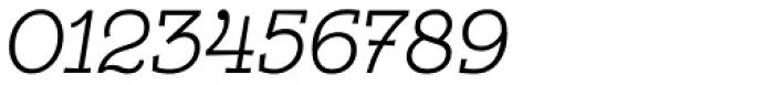 Egalite Light Italic Font OTHER CHARS
