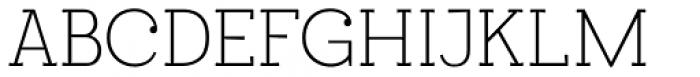 Egalite Thin Font UPPERCASE