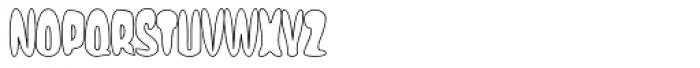 Eggit Outline AOE Font UPPERCASE