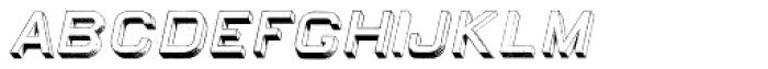 Egiptian Sans Serif Italic Font LOWERCASE
