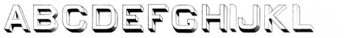 Egiptian Sans Serif Font UPPERCASE