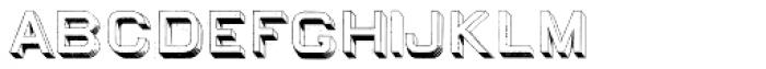 Egiptian Sans Serif Font LOWERCASE