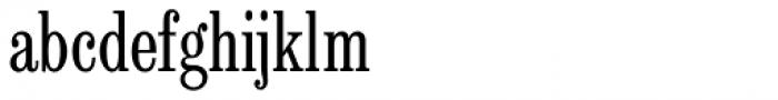 Egizio Com Condensed Font LOWERCASE