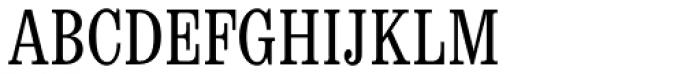 Egizio Condensed Font UPPERCASE