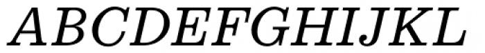 Egizio URW Italic Font UPPERCASE