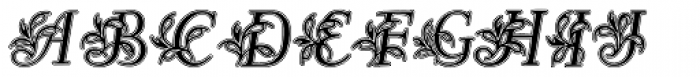 Egmontian Lined Font LOWERCASE
