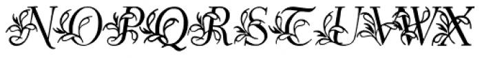 Egmontian Plus Font UPPERCASE
