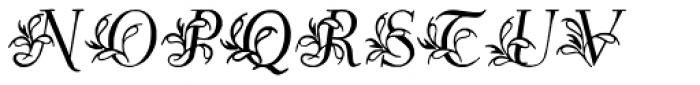 Egmontian Font UPPERCASE