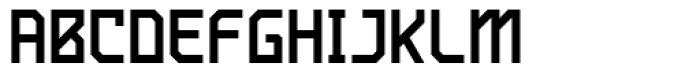 Ego Unicase Font UPPERCASE