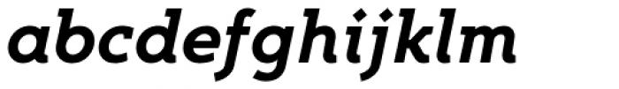 Egon Bold Italic Font LOWERCASE