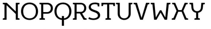 Egon Light Font UPPERCASE