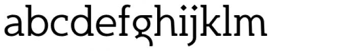 Egon Light Font LOWERCASE
