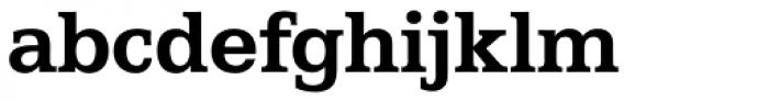 Egyptian 505 EF Bold Font LOWERCASE