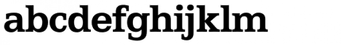 Egyptian 505 SH Bold Font LOWERCASE