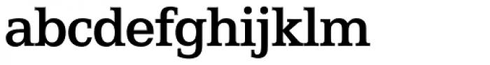 Egyptian 505 SH Medium Font LOWERCASE