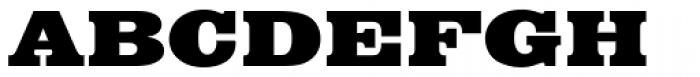 Egyptian Bold Extended Font UPPERCASE