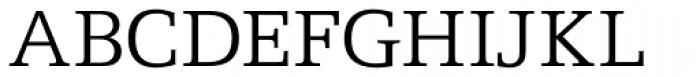 Egyptian Light Font UPPERCASE