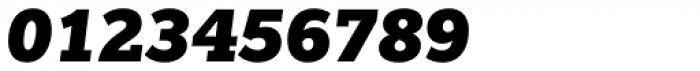 Egyptian Slate Pro Black Italic Font OTHER CHARS