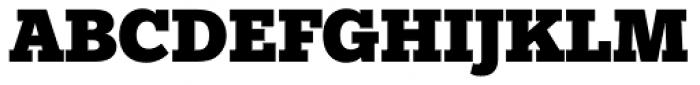 Egyptian Slate Pro Black Font UPPERCASE