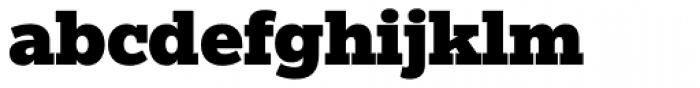 Egyptian Slate Pro Black Font LOWERCASE