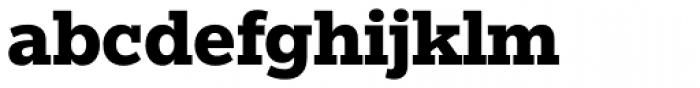 Egyptian Slate Pro Bold Font LOWERCASE