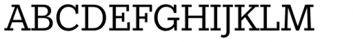Egyptian Slate Pro Book Font UPPERCASE