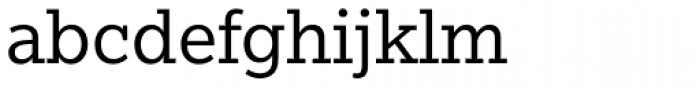 Egyptian Slate Std Book Font LOWERCASE